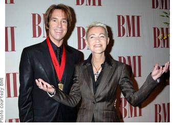Roxette at BMI million-air awards